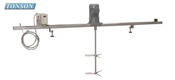 加寬型橫板式電動攪拌機