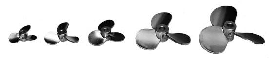 Square Pitch Propeller_marine propeller